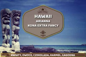 Kawa Świeżo Palona Hawaii Kona Extra Fancy - Arabica