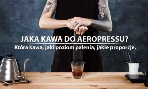 Kawa do AeroPressu.
